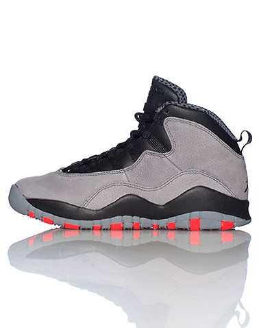 JORDAN BOYS Grey Footwear / Sneakers 4Y