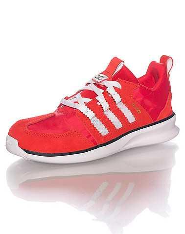 adidas BOYS Red Footwear / Sneakers