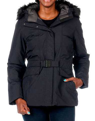 THE NORTH FACE WOMENS Black Clothing / Heavy Jackets L
