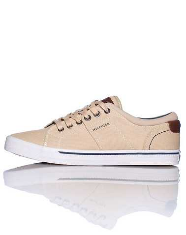 TOMMY HILFIGER MENS Beige-Khaki Footwear / Casual 11.5