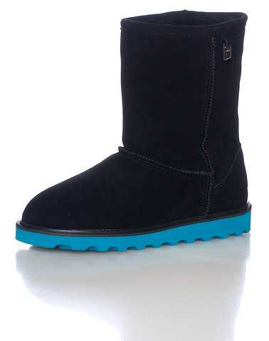 BEARPAW WOMENS Black Footwear / Boots 5