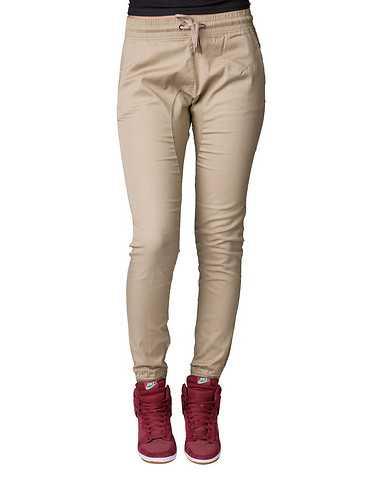 ESSENTIALS WOMENS Beige-Khaki Clothing / Bottoms L
