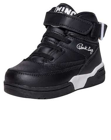 EWING ATHLETICS BOYS Black Footwear / Sneakers