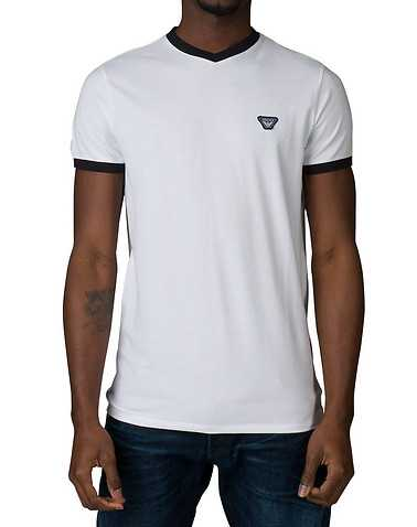ARMANI JEANS MENS White Clothing / Tops