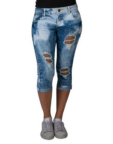 ESSENTIALS WOMENS Blue Clothing / Denim Shorts