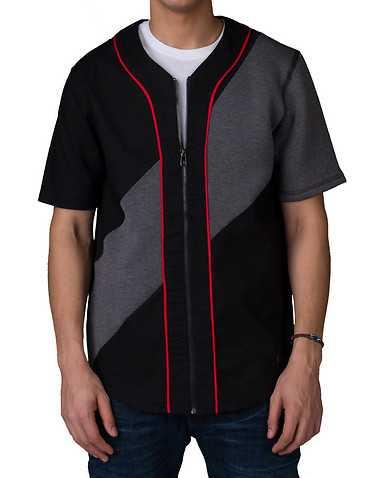HUDSON OUTERWEAR MENS Black Clothing / Button Down Shirts S