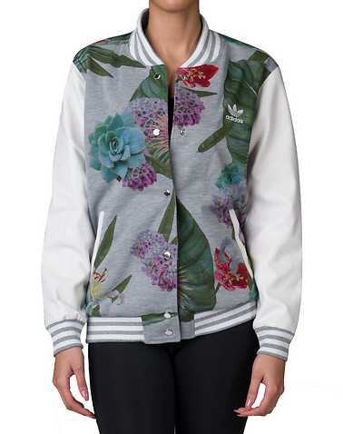 adidas WOMENS Grey Clothing / Light Jackets L