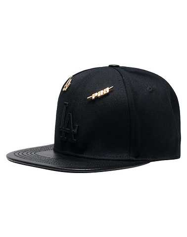 PRO STANDARD MENS Black Accessories / Caps Snapback OSFM