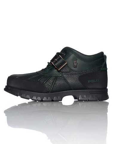 POLO FOOTWEAR MENS Dark Green Footwear / Boots 9