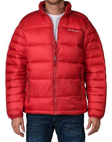 COLUMBIA MENS Red Clothing / Outerwear XL