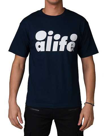 ALIFE MENS Blue Clothing / Tops L
