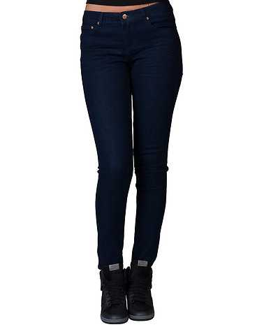LA BELLE ROC WOMENS Dark Blue Clothing / Jeans 5/6