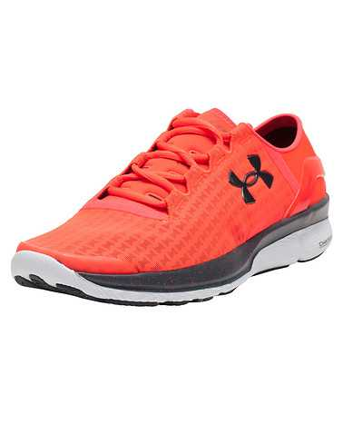 UNDER ARMOUR MENS Orange Footwear / Sneakers