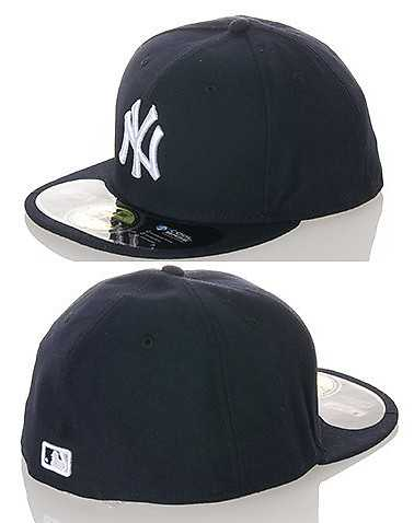 NEW ERA MENS Navy Accessories / Caps Fitted 712