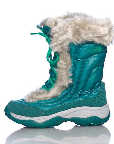 THE NORTH FACE GIRLS Green Footwear / Boots