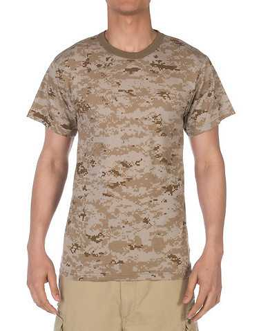 ROTHCO MENS Beige-Khaki Clothing / Tees and Polos S