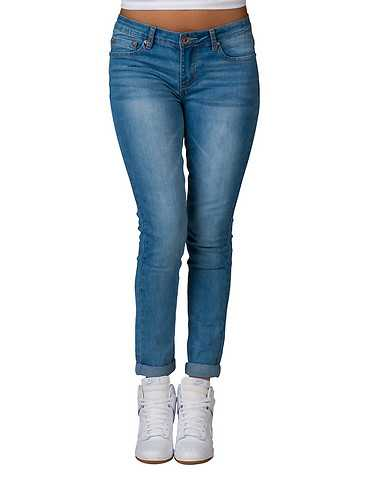 LA BELLE ROC WOMENS Blue Clothing / Jeans 5/6