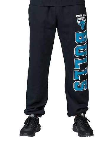 MITCHELL AND NESS MENS Black Clothing / Sweatpants L