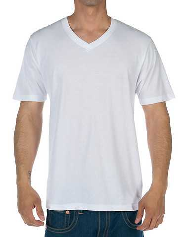 DECIBEL MENS White Clothing / Tees and Polos XL