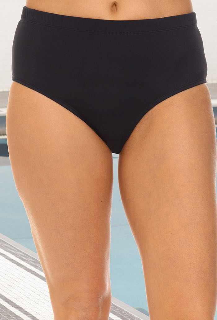 Chlorine Resistant Black Brief
