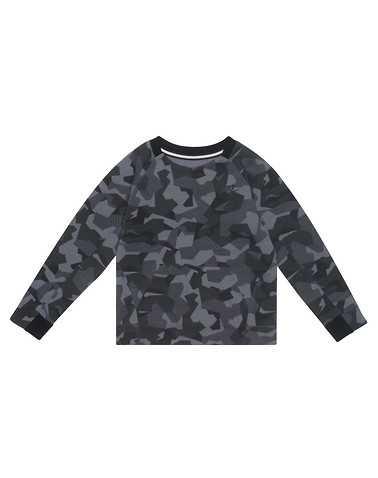 NIKE BOYS Grey Clothing / Crew Neck Sweatshirts /