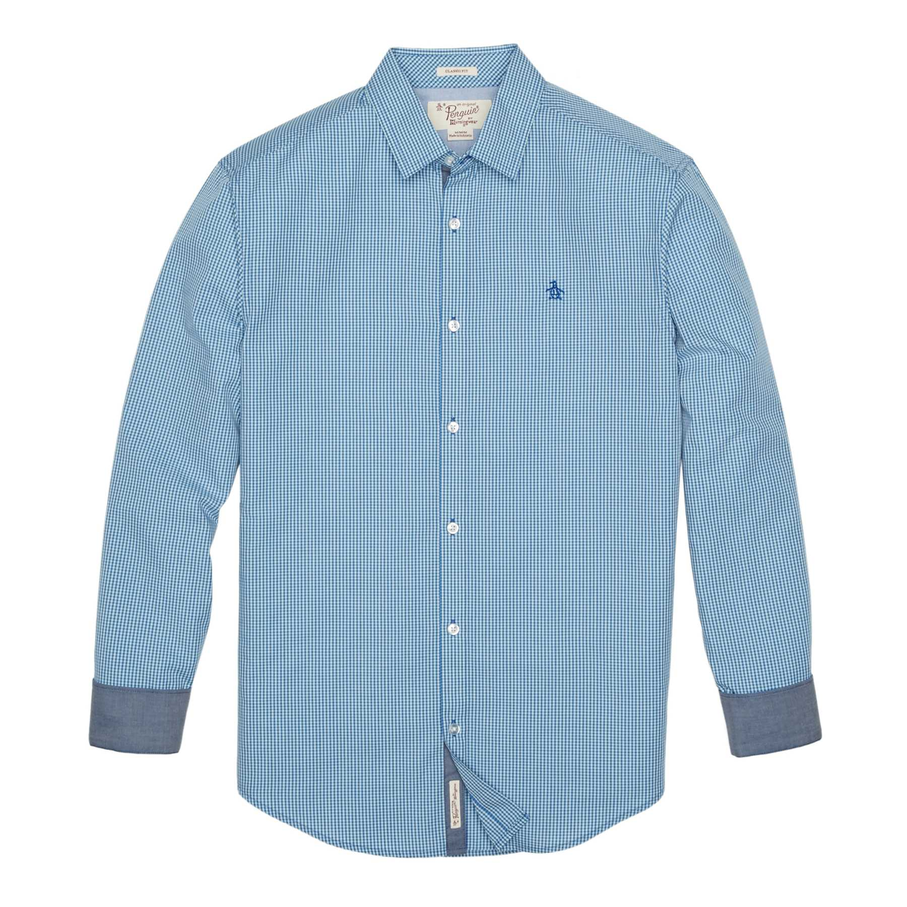 Original Penguin CLASSIC FIT GINGHAM SHIRT
