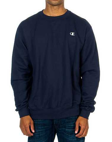 CHAMPION MENS Dark Blue Clothing / Sweatshirts M