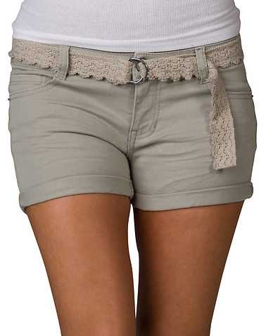 VANILLA STAR WOMENS Beige-Khaki Clothing / Casual Shorts