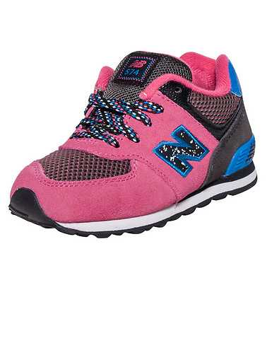 NEW BALANCE GIRLS Pink Footwear / Sneakers 8