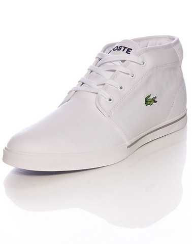 LACOSTE MENS White Footwear / Casual 10.5