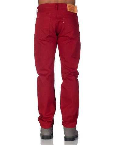 LEVIS MENS Red Clothing / Jeans 42x30