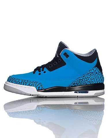 JORDAN BOYS Medium Blue Footwear / Sneakers 4Y