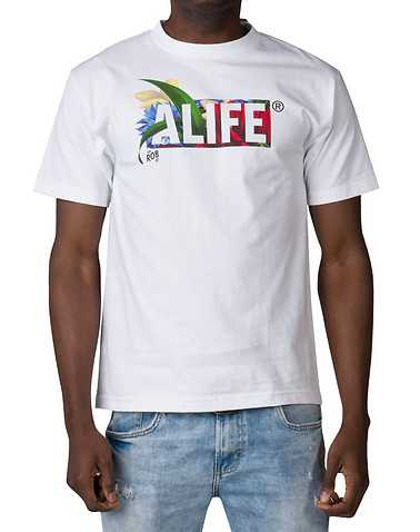 ALIFE MENS White Clothing / Tops M