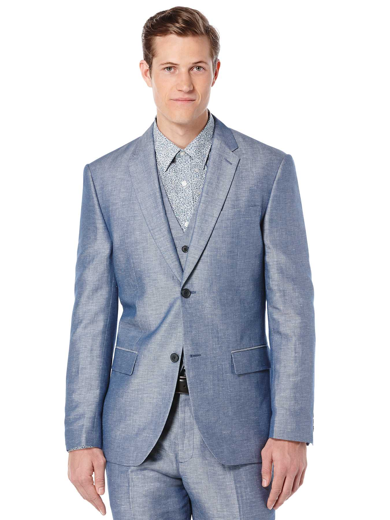 Perry Ellis Linen Twill Suit Jacket