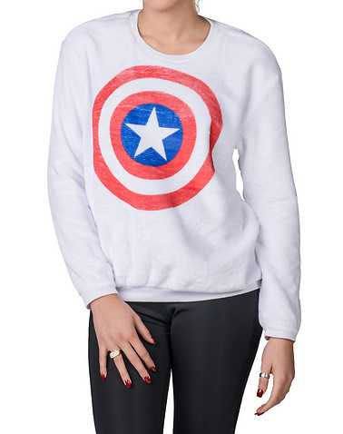 HYBRID WOMENS White Clothing / Sweatshirts S