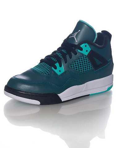 JORDAN BOYS Medium Blue Footwear / Sneakers