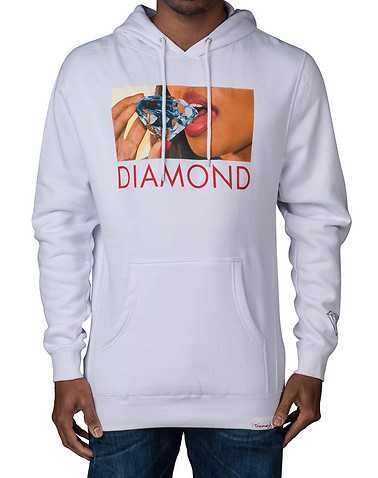 DIAMOND SUPPLY COMPANY MENS White Clothing / Sweatshirts XL