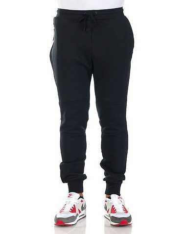 NIKE SPORTSWEAR MENS Black Clothing / Sweatpants L