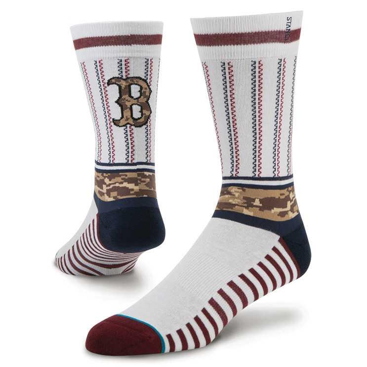 Stance Sentry Red Sox mlb memorial day Socks