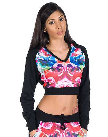 ESSENTIALS WOMENS Multi-Color Clothing / Sweatshirts