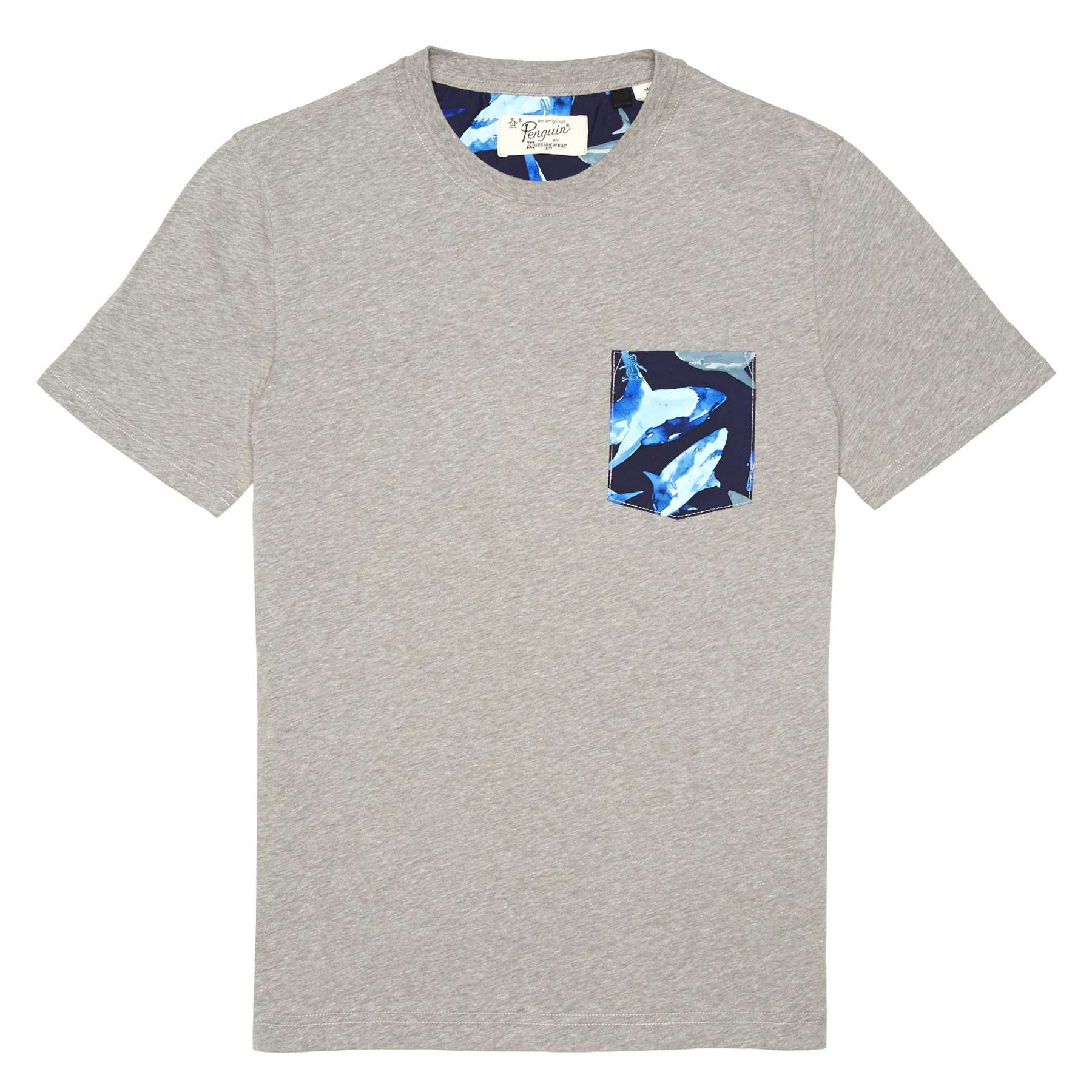 Original Penguin SHARK POCKET TEE