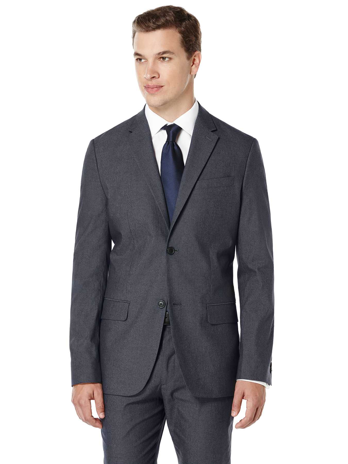 Perry Ellis Modern Fit Twill Suit Jacket