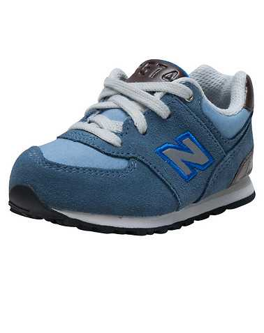 NEW BALANCE GIRLS Medium Blue Footwear / Sneakers
