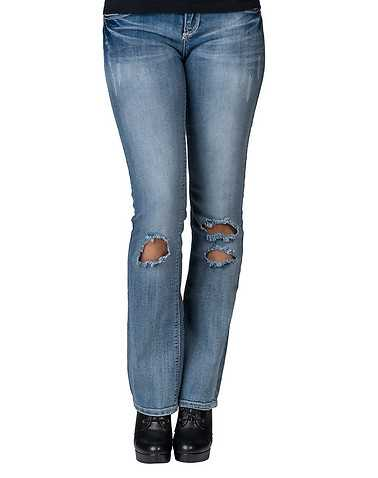 VANILLA STAR WOMENS Blue Clothing / Jeans