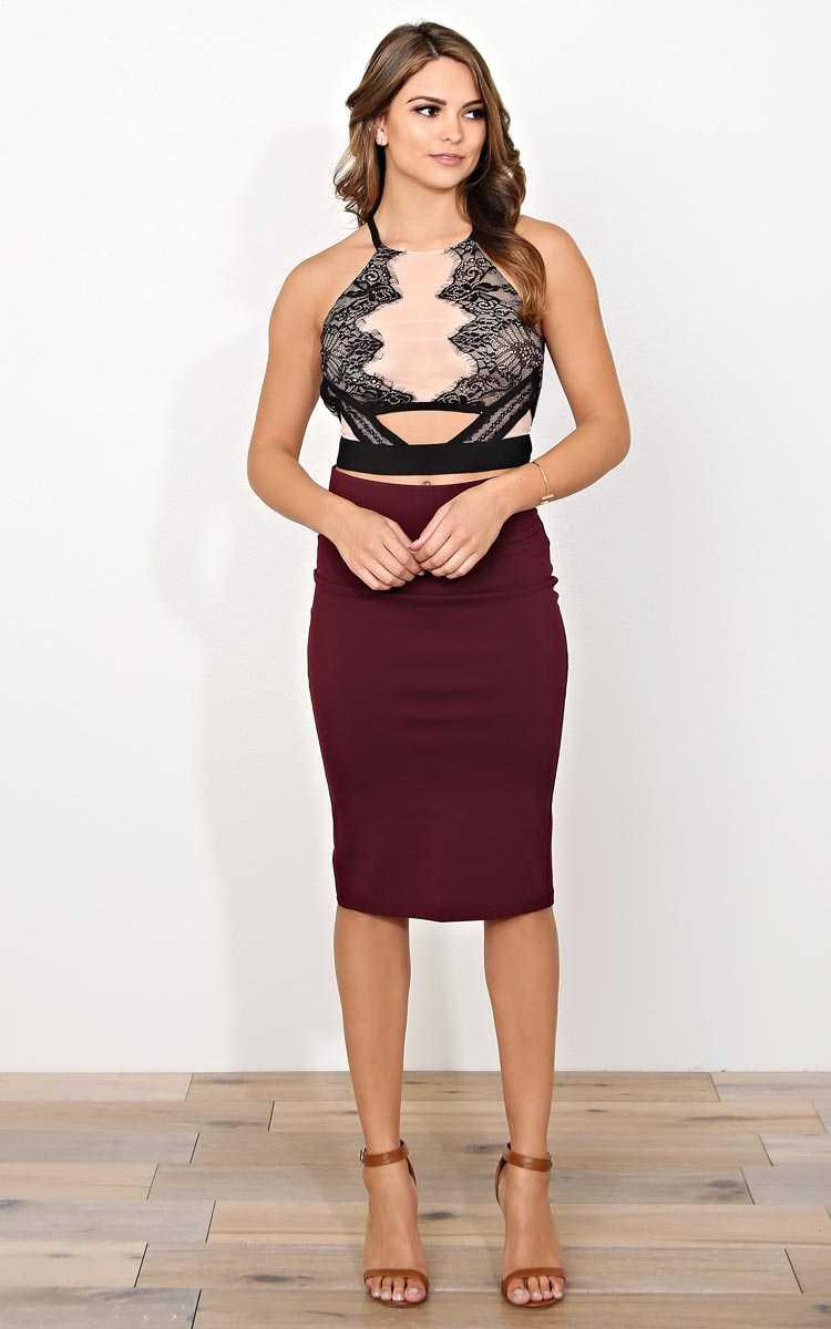 Gizelle Sheer Woven Top - - Blush in Size by Styles For Less