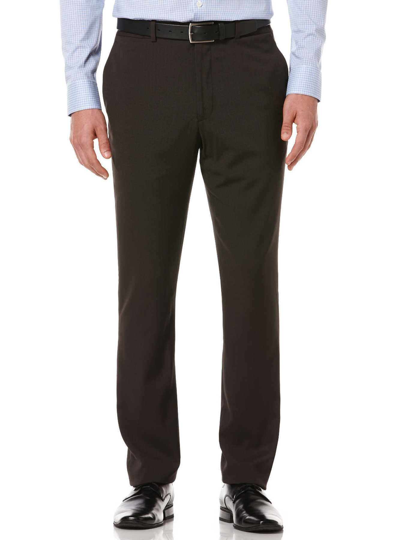 Perry Ellis Slim Fit Solid Portfolio Pant