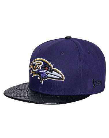 NEW ERA MENS Purple Accessories / Caps Snapback M/L