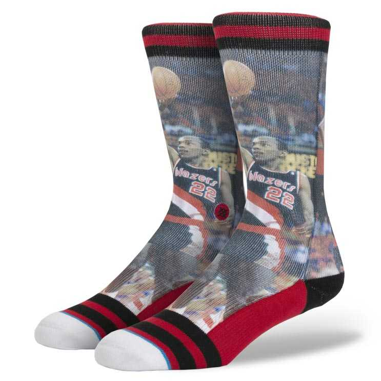 Stance Clyde Drexler NBA LEGENDS Socks