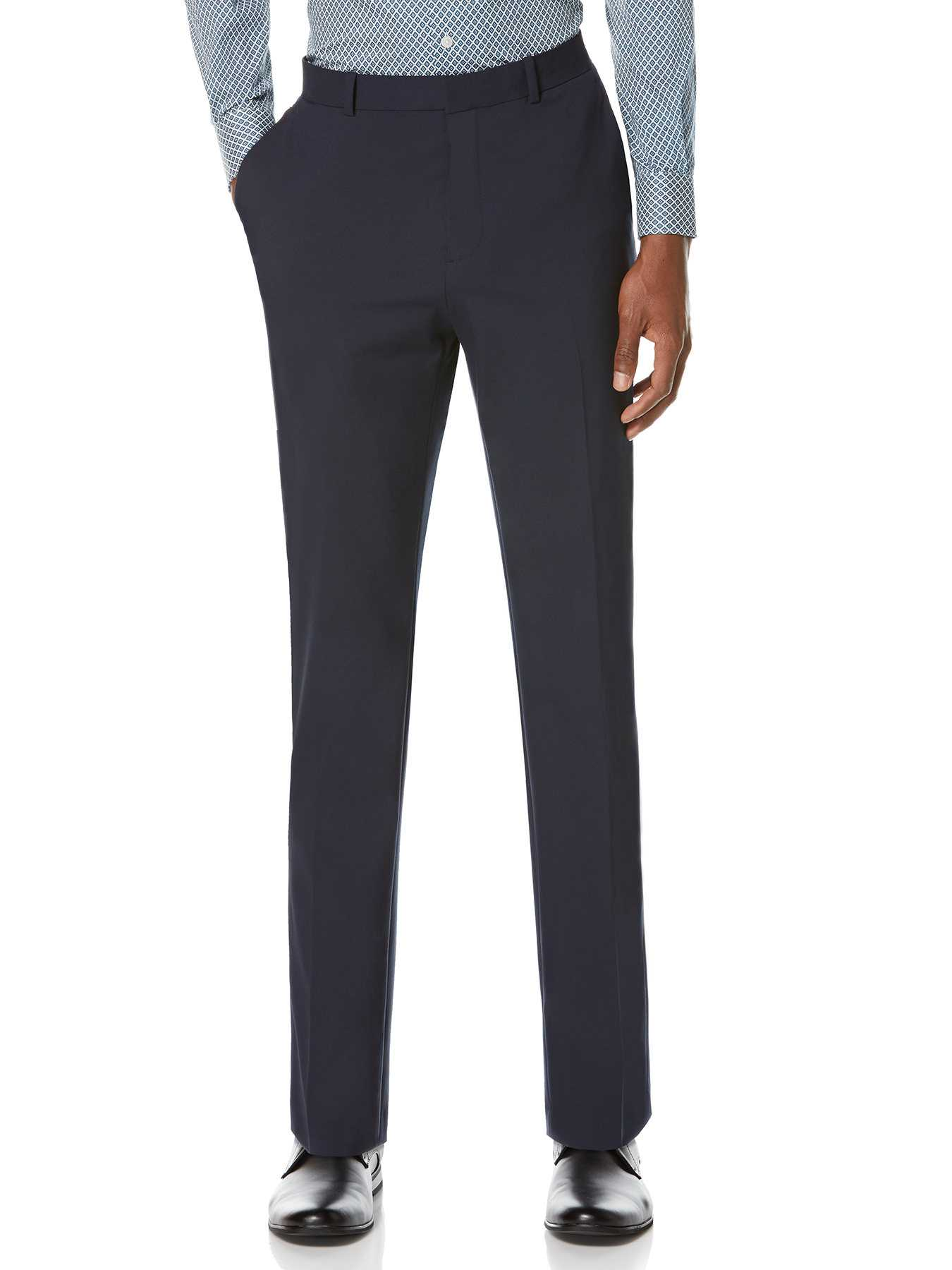 Perry Ellis Slim Fit Machine Washable Suit Pant