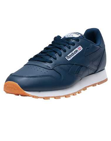 REEBOK MENS Navy Footwear / Sneakers